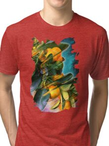 Small fruit tree in outer space Tri-blend T-Shirt