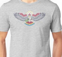 Colored Tribalish Braviary - The All-American Bird Unisex T-Shirt
