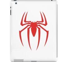 Spiderman original red logo iPad Case/Skin