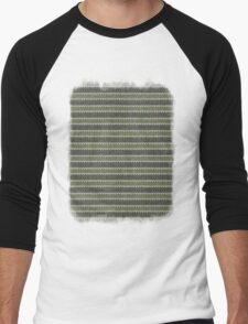 Cactus Garden Knit 1 Men's Baseball ¾ T-Shirt