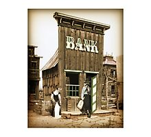 Old West Bandit Photographic Print