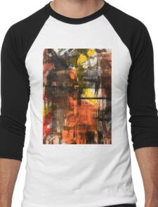 TIME IS THE FIRE IN WHICH WE BURN-PART 2—SCHWARTZ Men's Baseball ¾ T-Shirt