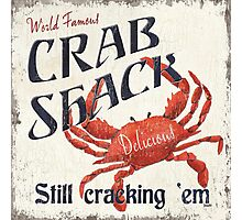 Crab Shack Photographic Print