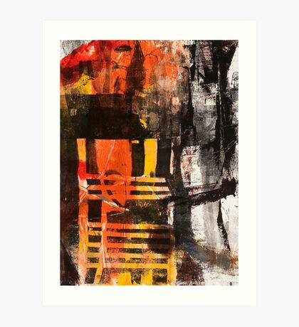 TIME IS THE FIRE IN WHICH WE BURN-PART 3—SCHWARTZ Art Print