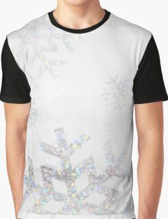 Snowflake Glitter Graphic T-Shirt