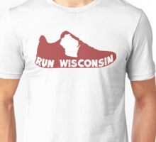 Run Wisconsin Unisex T-Shirt