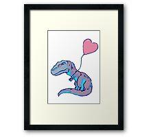 I Love Dinosaurs Framed Print