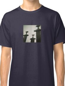 Sverd i Fjell - Monumental Scultpure in Norway - Diana 120mm Photograph Classic T-Shirt