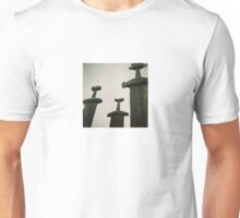 Sverd i Fjell - Monumental Scultpure in Norway - Diana 120mm Photograph Unisex T-Shirt