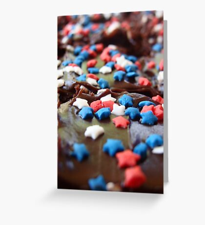 4th of July Pastry Greeting Card
