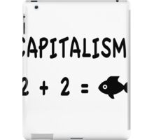 Capitalism Explianed iPad Case/Skin