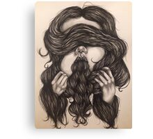 Chaetophobia Canvas Print