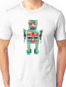 Vintage Robot T- shirt Unisex T-Shirt