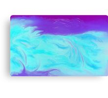 Drifting, Floating, Flowing Canvas Print