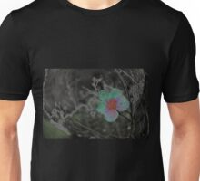 Rain Soaked Bloom Unisex T-Shirt