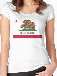 California Love Women's Fitted Scoop T-Shirt