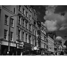 London 041 BW Photographic Print