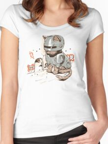 ROBOCAT Women's Fitted Scoop T-Shirt