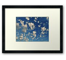 NS Passing By Humilis Cumulus© Framed Print