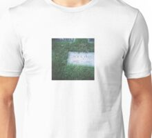 The End of Winter?  The Grave of Jack Frost.  Diana 120mm Photograph. Unisex T-Shirt