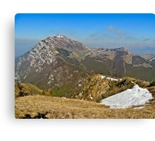 Top   Mountains Italy Veneto Canvas Print