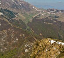 Top   Mountains Italy Veneto Sticker