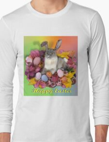 Easter Kitty  Long Sleeve T-Shirt