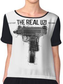 The Real Uzi Chiffon Top