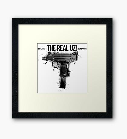 The Real Uzi Framed Print