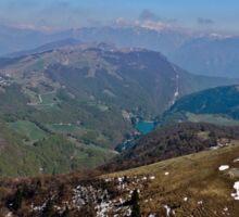 Alps Mountains Sticker