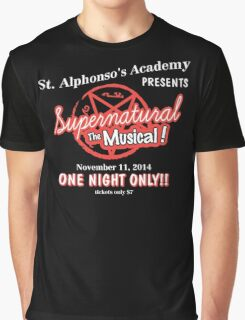Supernatural The Musical Graphic T-Shirt