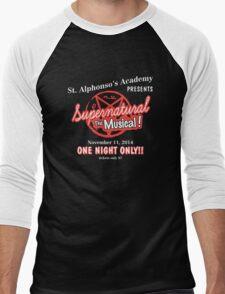 Supernatural The Musical Men's Baseball ¾ T-Shirt
