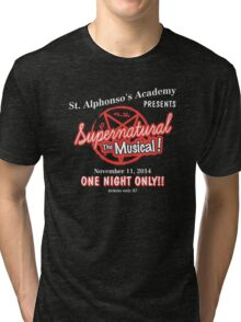 Supernatural The Musical Tri-blend T-Shirt