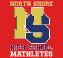 North Shore High School Mathletes Baby Tee