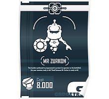 Mr Zurkon - Ratchet and Clank Poster