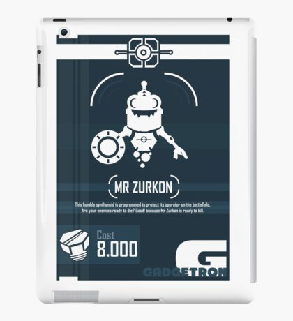 Mr Zurkon - Ratchet and Clank iPad Case/Skin