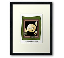 The Pearl with the Girl Earring Framed Print