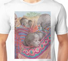 African Mother with Child Unisex T-Shirt