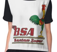 BSA Bantam motorcycle Chiffon Top