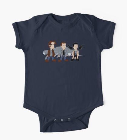 Sam, Dean, Castiel One Piece - Short Sleeve