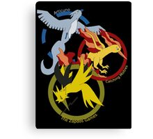 Birds x The Hunger Games (v2) Canvas Print
