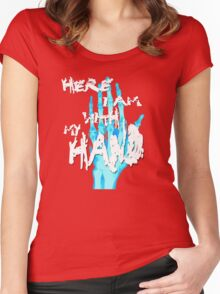 Holiday Song Women's Fitted Scoop T-Shirt