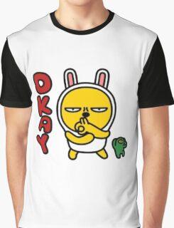 KakaoTalk Muzi and Con Graphic T-Shirt