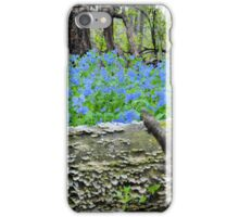 The Magical Blue Forest iPhone Case/Skin