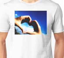 Hold my heart in your hands Unisex T-Shirt