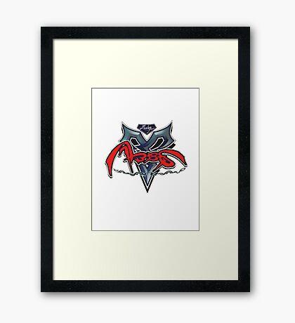 FFX - Zanarkand Abes Framed Print