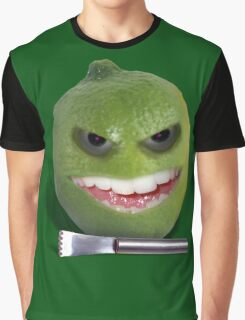 Beware the Lime with the Lemon Zester Graphic T-Shirt