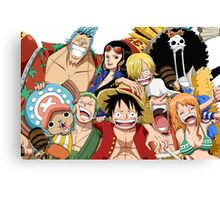 One Piece Canvas Print