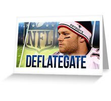 Deflategate Greeting Card