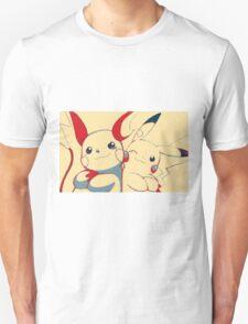 Raichu and Pikachu Unisex T-Shirt